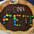 Tarte classique au chocolat noir - gagnant du concours