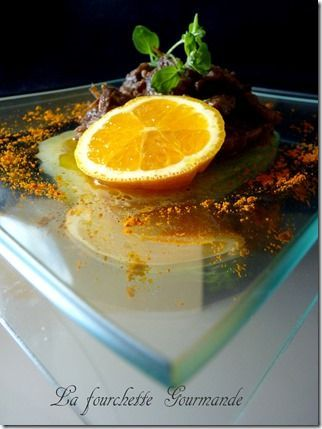Boeuf l'orange et aux épices 5