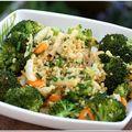 Boulgour aux petits légumes, curry et plein de ciboulette