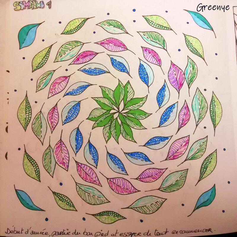 Semaine 01 coloriage