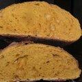 Comment fabriquer du soleil? pain au curcuma!