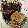 Cake choco-spéculoos