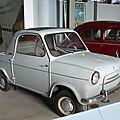 ACMA - VESPA type 400 1959 Bruxelles Autoworld (1)