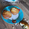 Muffins aux baies rouges