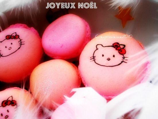 joyeux_noel_macarons