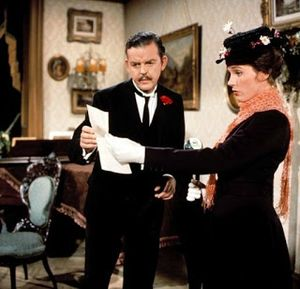 Mary Poppins and Mr Banks - A Cheery Disposition