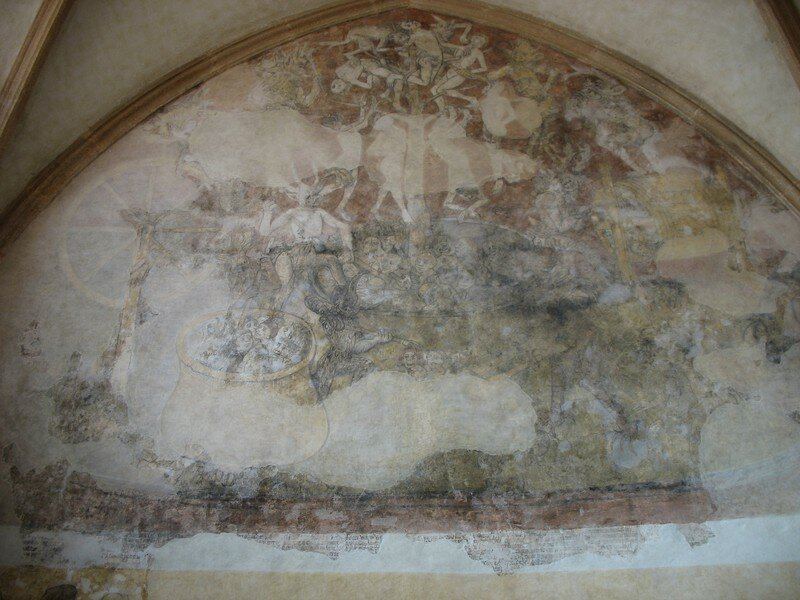 Fresque de l 'Enfer, Kernascléden (56)