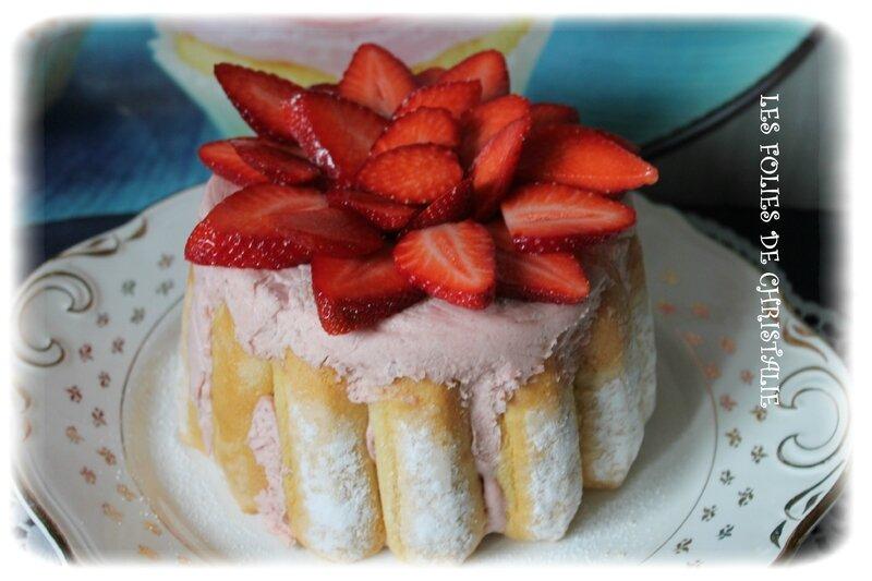 Charlotte aux fraises 3