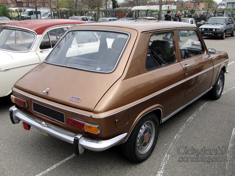 Simca 1100 Special 2 portes 1972-1974-02