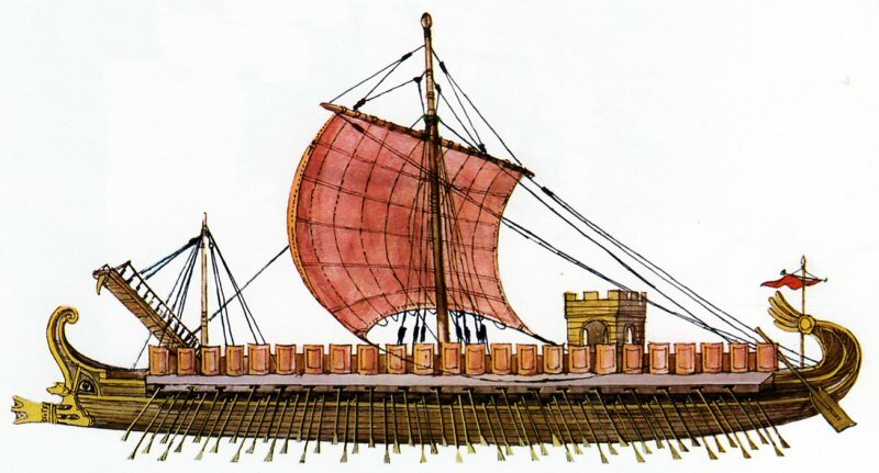 Flotte romaine
