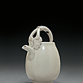 A small Ding ewer, Song dynasty (AD
