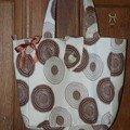 sac fleurettes chocolat