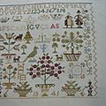 Little Dutch Sampler, brodé par Bénédicte