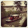 Balade le long des canaux sur pingjiang road, suzhou