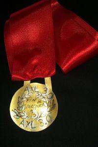 médaille fin de parcours 3