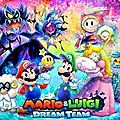 Test : mario & luigi dream team bross