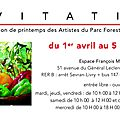 Vernissage du salon de printemps