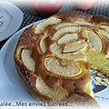 Gâteau pommes - mascarpone