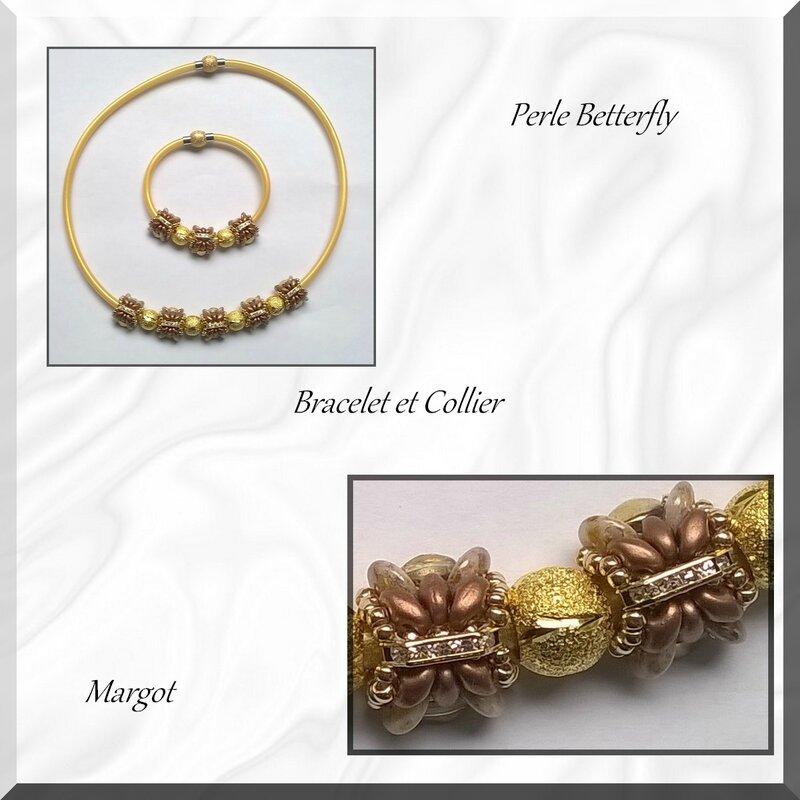 bracelet collier betterfly