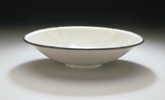 Lobed Bowl (Wan) with Lotus Spray, middle Northern Song or early Jin dynasty, about 1000-1127