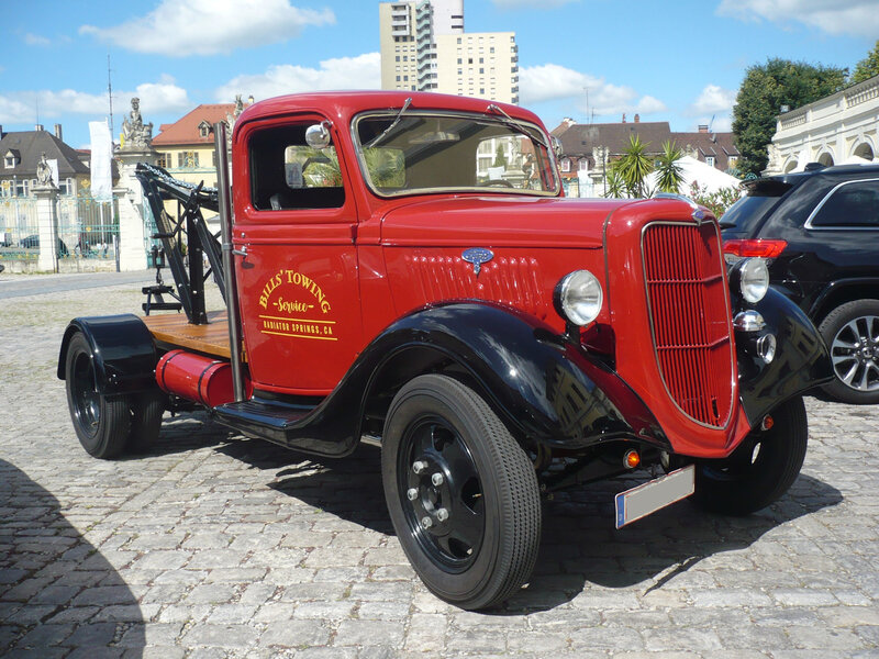 FORD Model BB Truck dépanneuse 1935 Ludwigsburg (1)