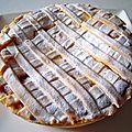tarte à la ricotta et aux abricots
