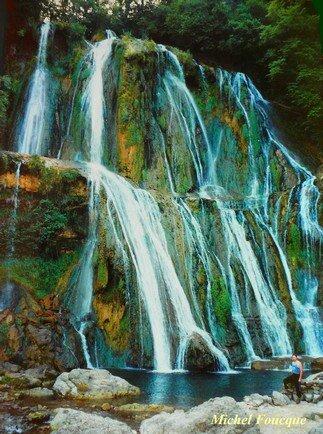 1884) cascade du Bugey (Ain)