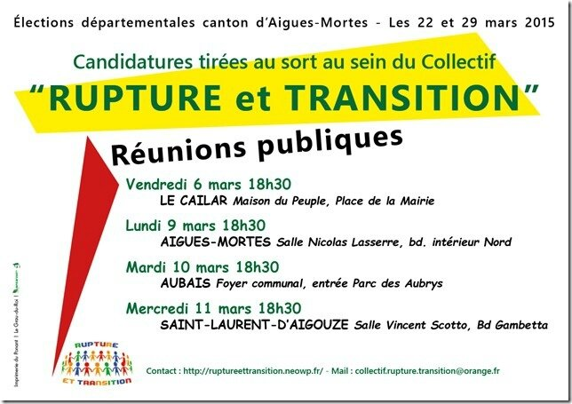 Rupture et Transition fly 2015[1]