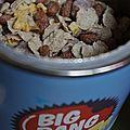 Mon colis big bang ou comment personnaliser ses céréales !