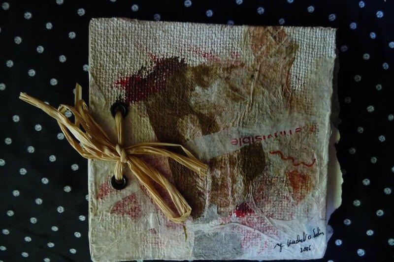 Carnet sans estampe Paint