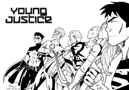 Young Justice encrée