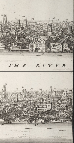 312px-View_of_Coldharbour_first_and_after_the_Great_Fire_of_1666