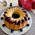 Bundt cake myrtilles/citron