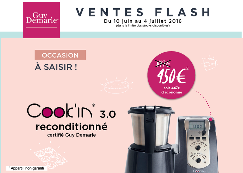 vente flash cook'in2