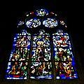 Eglise Notre Dame des Arts - Vitrail - Saint Francois