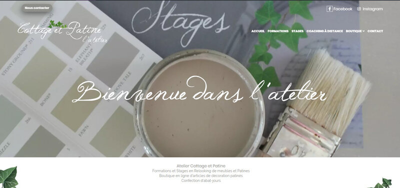 page accueil site 2020
