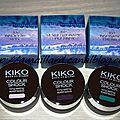 Collection boulevard rock kiko: pour son retour,l'ombre color shock s'offre de nouvelles teintes.....