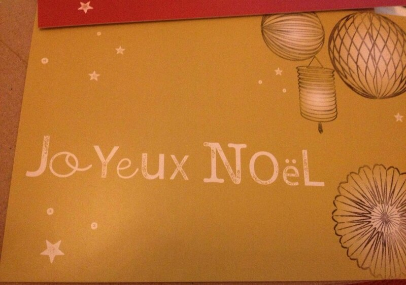 carteJoyeuxNoel