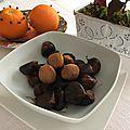 Dessert : châtaignes aux épices - castanhas da prima germana