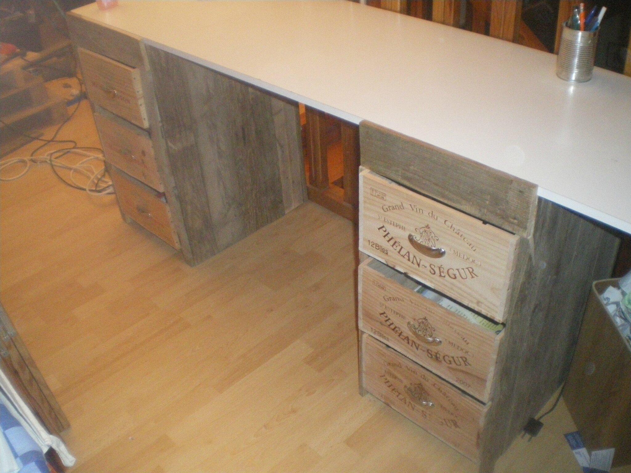 Premier projet en bois de palette blog dune touche à tout !