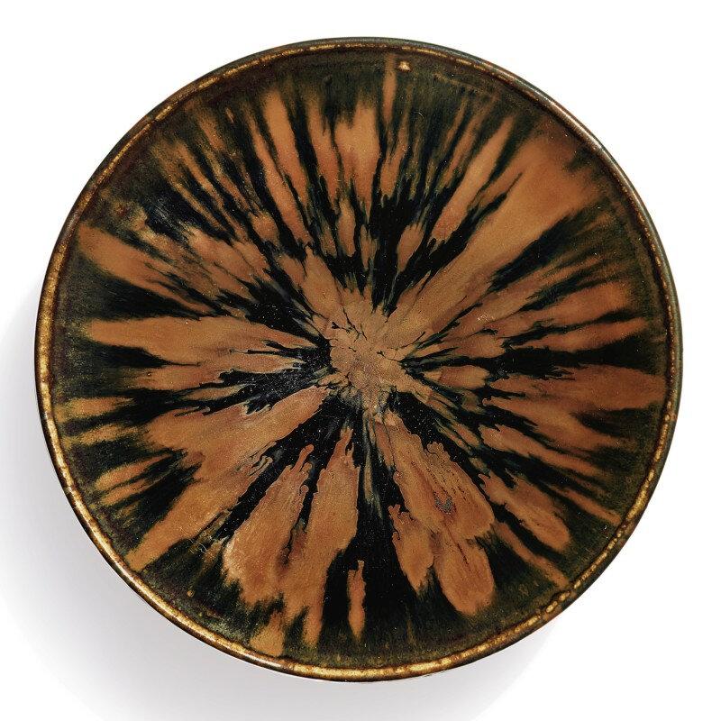 A superb russet-splashed black-glazed bowl, Northern Song-Jin dynasty