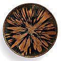 A superb russet-splashed black-glazed bowl, northern song-jin dynasty (960-1234)