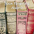 Tag - book fangirling award