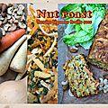 Terrine de légumes & fruits secs - nut roast