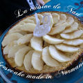 Cheesecake made in normandie