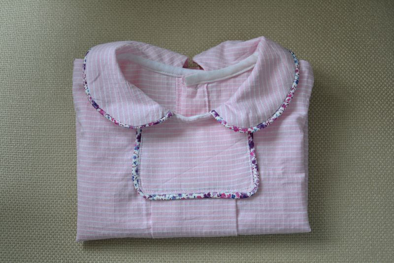 Blouse oslo olympe rose et phoebe détail