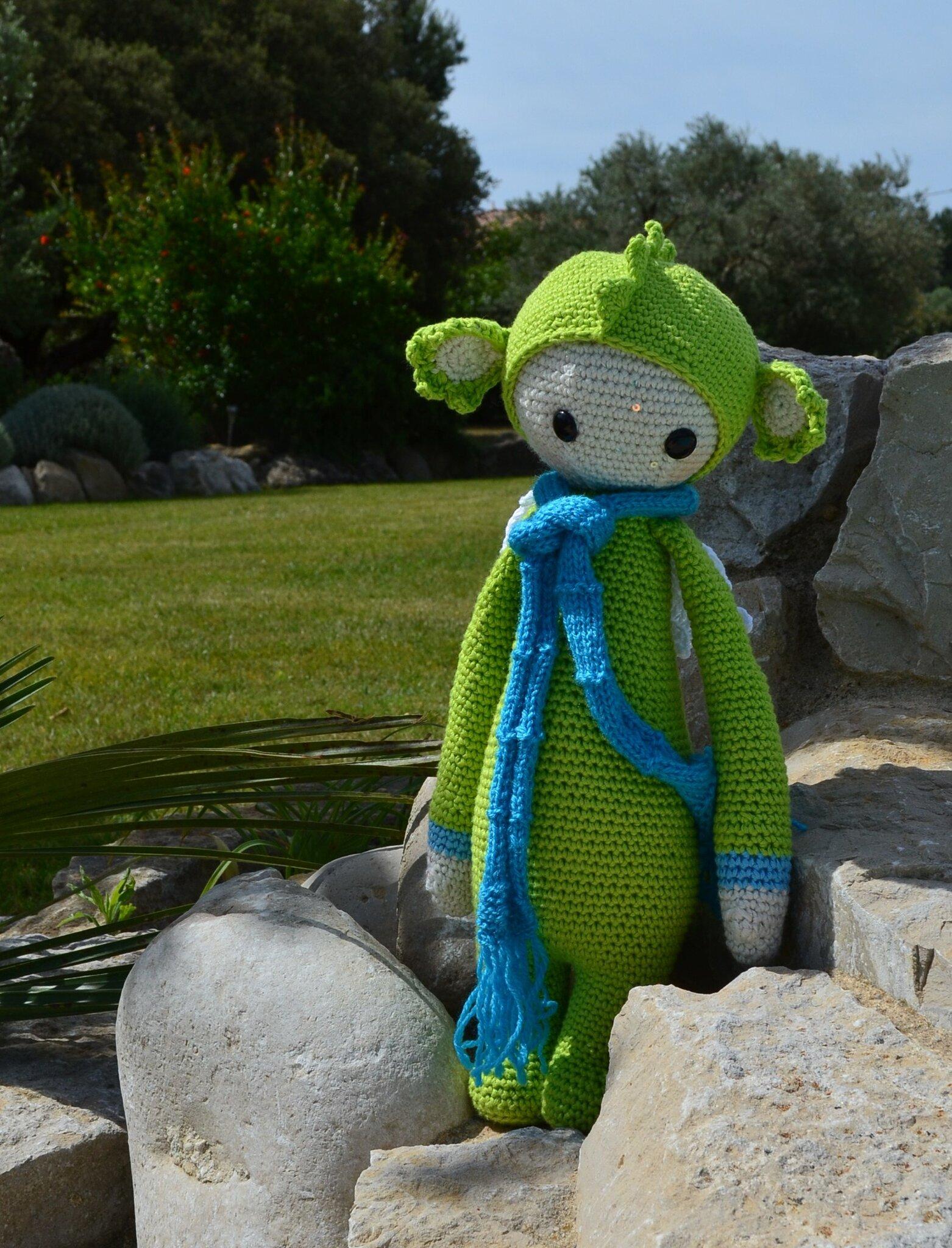 Dragon Dirk lallylala au crochet