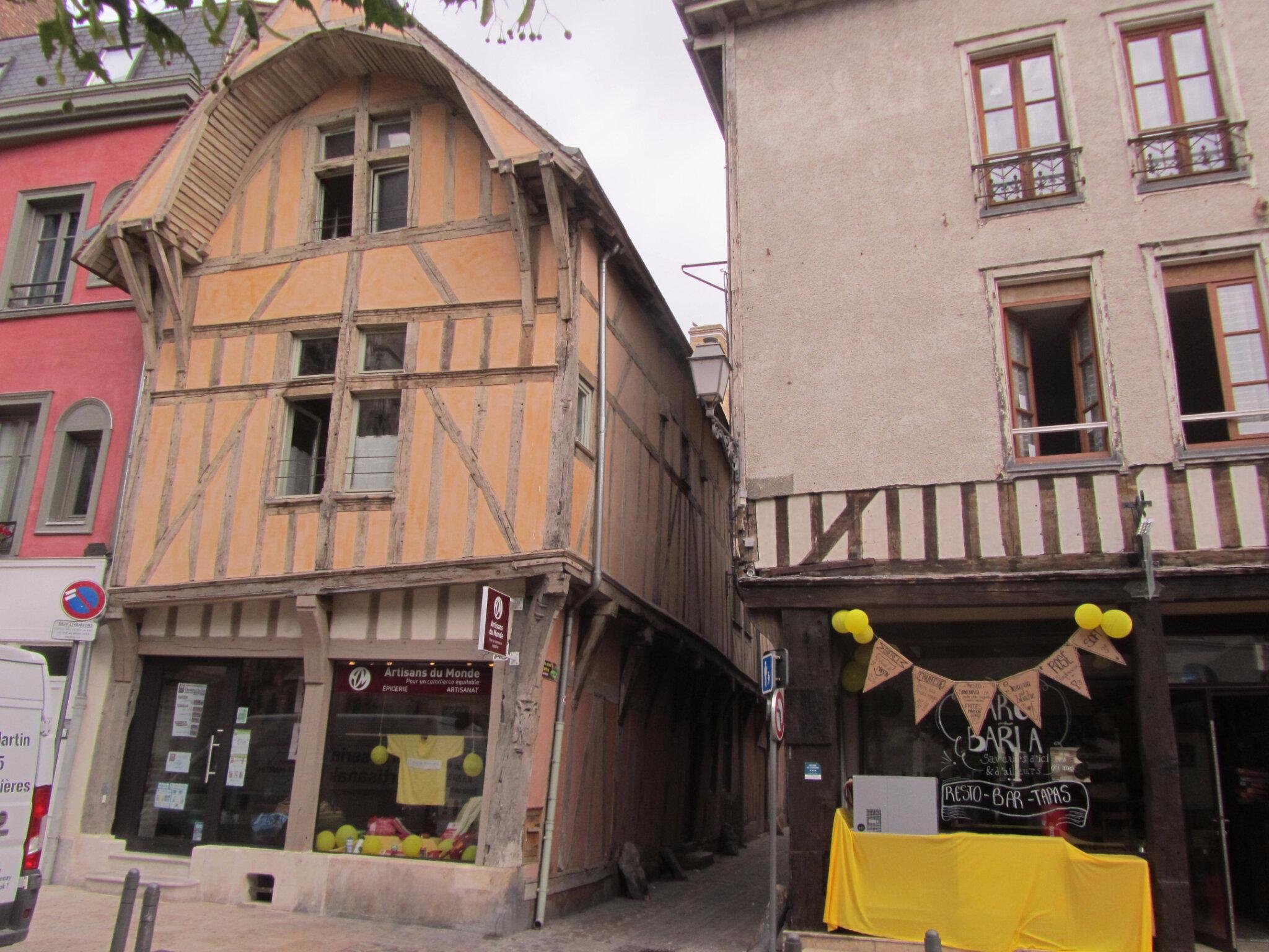 6 juillet 2017 - Visite du vieux Troyes