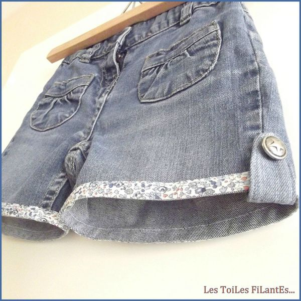 11-Shorts en jean et blouse assorties8