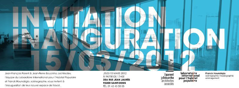invitation inauguration   graphiste